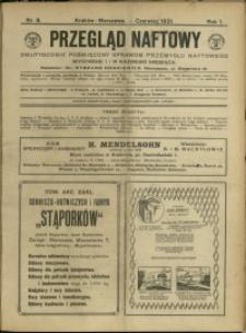 Przegląd Naftowy : 1921 : nr 8