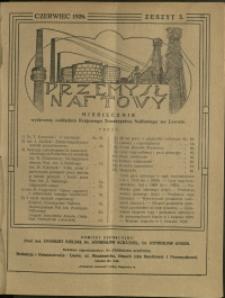 Przemysł Naftowy : 1926 : nr 3