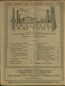 Przemysł Naftowy : 1926 : nr 8