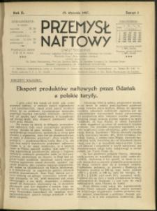 Przemysł Naftowy : 1927 : nr 2