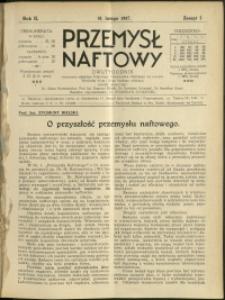 Przemysł Naftowy : 1927 : nr 3