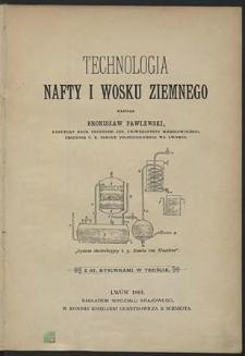 Technologia nafty i wosku ziemnego
