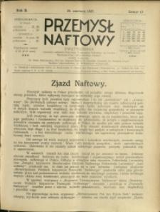 Przemysł Naftowy : 1927 : nr 12