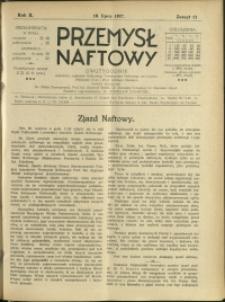 Przemysł Naftowy : 1927 : nr 13