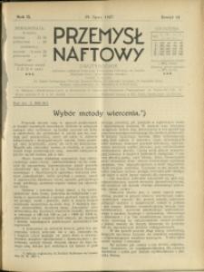 Przemysł Naftowy : 1927 : nr 14