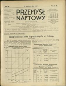Przemysł Naftowy : 1927 : nr 19
