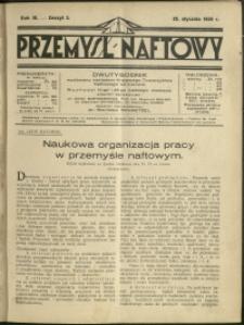 Przemysł Naftowy : 1928 : nr 2