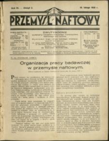 Przemysł Naftowy : 1928 : nr 3