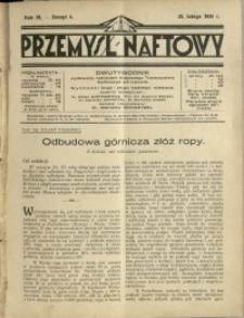 Przemysł Naftowy : 1928 : nr 4