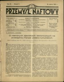 Przemysł Naftowy : 1928 : nr 5