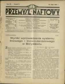 Przemysł Naftowy : 1928 : nr 9