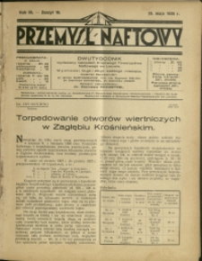 Przemysł Naftowy : 1928 : nr 10
