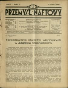 Przemysł Naftowy : 1928 : nr 11