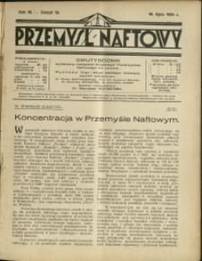 Przemysł Naftowy : 1928 : nr 13