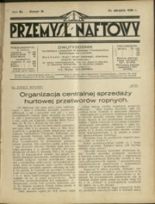 Przemysł Naftowy : 1928 : nr 16