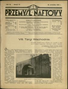 Przemysł Naftowy : 1928 : nr 17