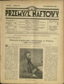 Przemysł Naftowy : 1928 : nr 19