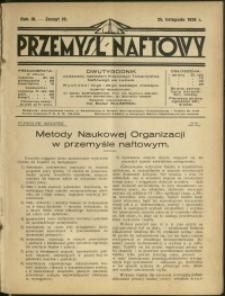 Przemysł Naftowy : 1928 : nr 22
