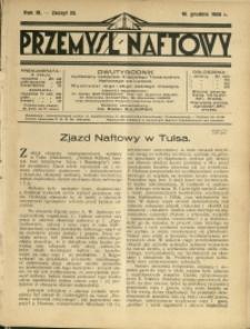 Przemysł Naftowy : 1928 : nr 23