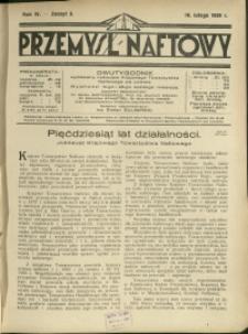 Przemysł Naftowy : 1929 : nr 3