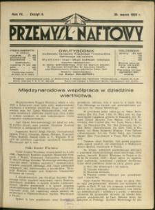 Przemysł Naftowy : 1929 : nr 6