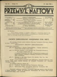 Przemysł Naftowy : 1929 : nr 10