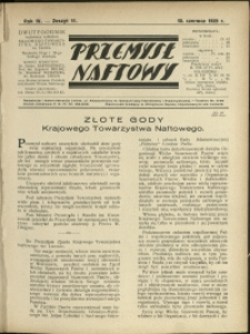 Przemysł Naftowy : 1929 : nr 11
