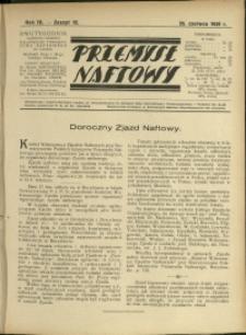 Przemysł Naftowy : 1929 : nr 12
