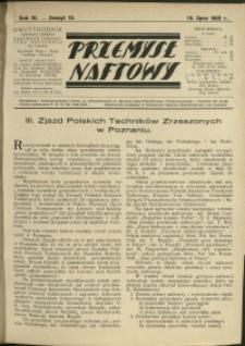 Przemysł Naftowy : 1929 : nr 13