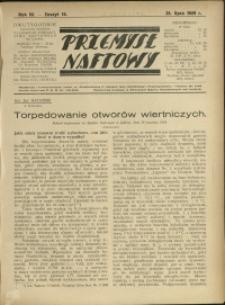 Przemysł Naftowy : 1929 : nr 14