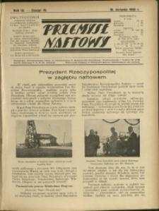 Przemysł Naftowy : 1929 : nr 15