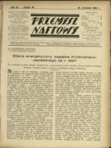 Przemysł Naftowy : 1929 : nr 18