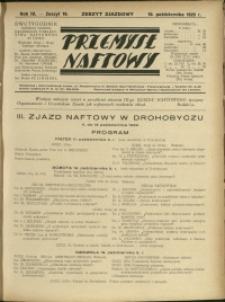 Przemysł Naftowy : 1929 : nr 19
