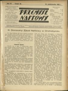 Przemysł Naftowy : 1929 : nr 20