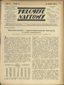 Przemysł Naftowy : 1929 : nr 23