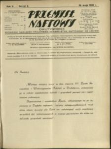 Przemysł Naftowy : 1930 : nr 9
