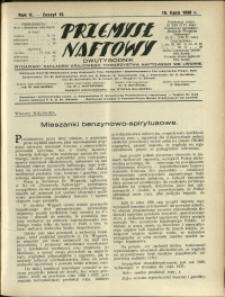 Przemysł Naftowy : 1930 : nr 13