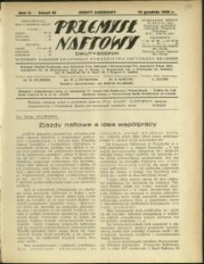 Przemysł Naftowy : 1930 : nr 24