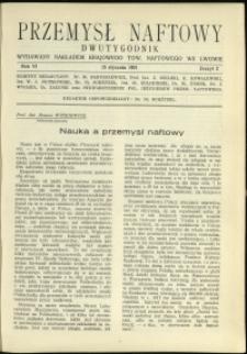Przemysł Naftowy : 1931 : nr 2