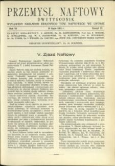 Przemysł Naftowy : 1931 : nr 13