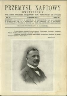 Przemysł Naftowy : 1931 : nr 23