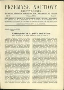 Przemysł Naftowy : 1932 : nr 5
