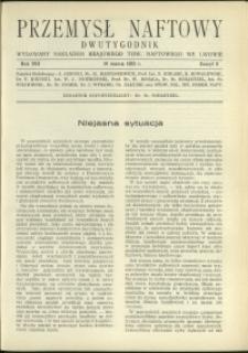 Przemysł Naftowy : 1933 : nr 5