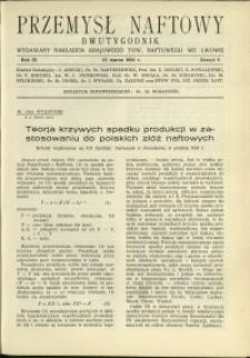 Przemysł Naftowy : 1934 : nr 5