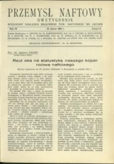 Przemysł Naftowy : 1934 : nr 6