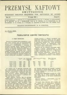 Przemysł Naftowy : 1934 : nr 9