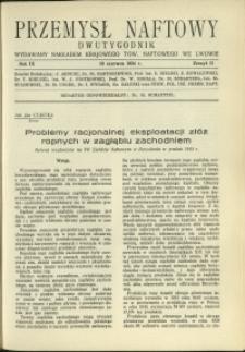 Przemysł Naftowy : 1934 : nr 11