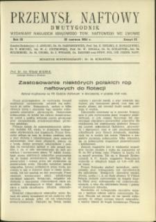 Przemysł Naftowy : 1934 : nr 12