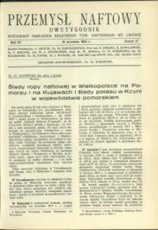 Przemysł Naftowy : 1934 : nr 17