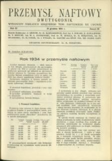 Przemysł Naftowy : 1934 : nr 23